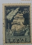 Stamps Greece -  ∆p 450