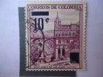 Stamps Colombia -  Santuario de Las Lajas - Dpt. de Nariño