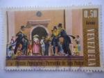 de America - Venezuela -  Danzas populares - Parranda de San Pedro.