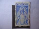 de America - Nicaragua -  Sobre Taza Postal.