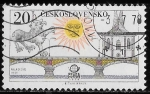 Stamps Europe - Czechoslovakia -  Checoslovaquia-cambio