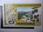 Stamps America - Venezuela -  Ministerio de Hacienda - Paga tus Impuestos