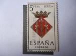 de Europa - España -  Ed:1554 - Lerida-Escudo de Armas - Serie:Armas provinciales.
