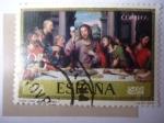 de Europa - España -  Ed:2541 - La Última Cena - Oleo de: Juan de Juanes