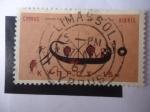 Stamps : Asia : Cyprus :  Barco Antiguo - 7 Centenario A.C