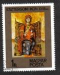 de Europa - Hungría -  Iconos: Icono de Esztergom, siglo XVIII.