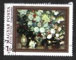 de Europa - Hungría -  Pinturas - Flores: Flores, por István Csók