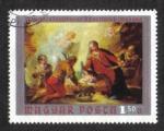 de Europa - Hungría -  Pinturas del Museo Cristiano, Esztergom: Adoración de los pastores por Fontebasso