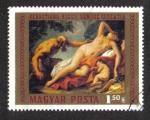 de Europa - Hungría -  Pinturas del Museo de Bellas Artes: Venus y Sátiro de Sebastiano Ricci