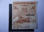 Sellos de America - Colombia -  Nevado del Ruiz - Manizales - Serie Unificado.