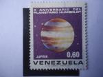 Sellos del Mundo : America : Venezuela : Júpiter - X Aniversario del Planetario Humboldt.