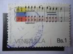 sellos de America - Venezuela -  100 Año Himno Nacional 1881-1981