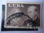 Stamps America - Cuba -  Raimundo G.Menocal (1856-1917) Profesor-Centenario-Homenaje al Profesor-Colegio Médico Nacional