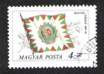 Stamps Hungary -  Banderas históricas: Bandera de honor