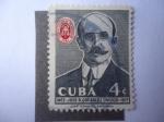 Stamps America - Cuba -  José A. González Lanuza (1865-1917) Profesor -  Colegio Nacional de Abogados.