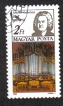 Stamps Europe - Hungary -  Año Internacional de la Música: Johann Sebastian Bach