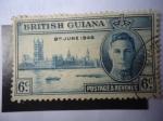 sellos de Europa - Reino Unido -  Guyana Británica - Aniversario de la Victoria - Serie:Paz y Victoria