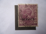Stamps India -  King George V, con Corona de Emperador de la India.Serie:King George V-Oficial.
