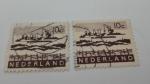 Sellos de Europa - Holanda -  Industria Portuaria