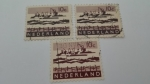 Stamps Europe - Netherlands -  Industria Portuaria