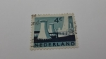 Stamps Europe - Netherlands -  Industria Nuclear