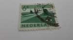 Stamps Europe - Netherlands -  Industria Nuclear Submarino