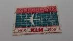 Sellos de Europa - Holanda -  KLM