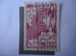 Sellos de Asia - Japón -  Yatsuhashi - Serie: flora y tesoros Nacionales.
