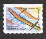 Stamps : America : Argentina :  1653 - Campeonato Mundial de Aeromodelismo (F1A)