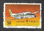 Stamps Brazil -  Año de la Industria Aeronáutica