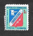 Sellos de America - Rep Dominicana -  RA53 - Pro-Escuela Postal y Telegráfica