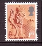 Sellos de Europa - Reino Unido -  Country definitive- Inglaterra