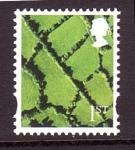 Stamps United Kingdom -  Country definitive- Irlanda
