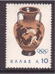 Stamps Greece -  Mexico 1964