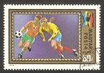 Stamps Hungary -  346 - Campeonatos europeos de futbol, Rumania
