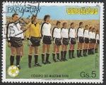 Sellos de America - Paraguay -  905 - Mundial de fútbol España 82, Equipo de Austria