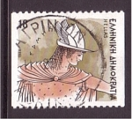 Stamps Greece -  serie- Dioses griegos