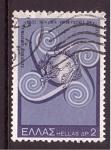 Sellos de Europa - Grecia -  Centenario UPU