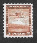 Stamps Chile -  Avión