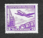 Stamps : America : Chile :  C224 - Avión