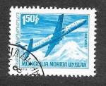 Stamps of the world : Mongolia :  Avión