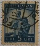 Stamps Italy -  Poste Republica Italiana