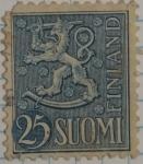 Stamps Finland -  Finlandia 25 Suomi
