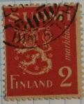 Stamps Finland -  Finlandia 2 suomi