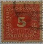 Stamps Austria -  Austria 5 Heller