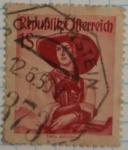 Stamps Austria -  Republik österreich