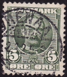 Stamps Denmark -  Cristian lX