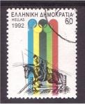 Stamps Greece -  Barcelona 92