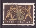 Sellos de Europa - Grecia -  serie- Labores de Hercules