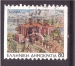 Stamps of the world : Greece :  serie- Capitales de prefecturas